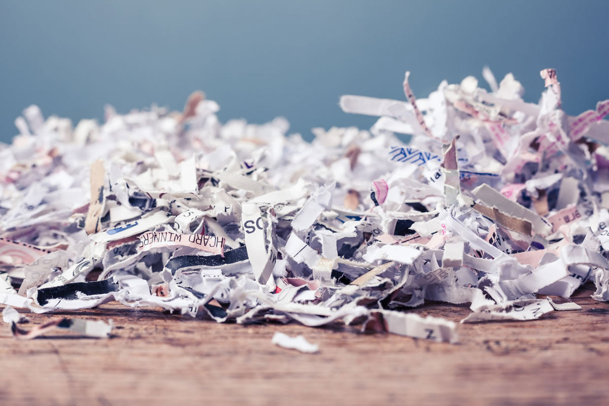 Three Ways to Properly Recycle Shredded Paper
